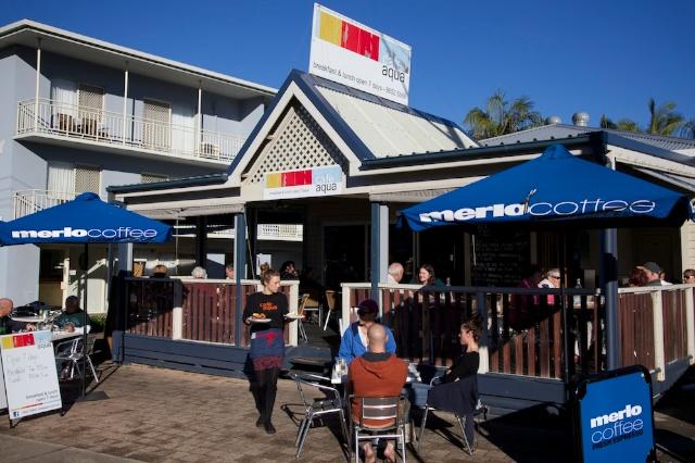 Cafe Aqua Outdoor View